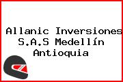 Allanic Inversiones S.A.S Medellín Antioquia