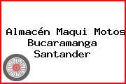 Almacén Maqui Motos Bucaramanga Santander