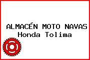 ALMACÉN MOTO NAVAS Honda Tolima