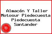 Almacén Y Taller Motosur Piedecuesta Piedecuesta Santander
