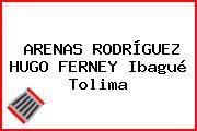 ARENAS RODRÍGUEZ HUGO FERNEY Ibagué Tolima