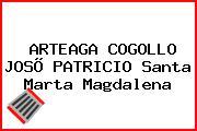 ARTEAGA COGOLLO JOSÕ PATRICIO Santa Marta Magdalena