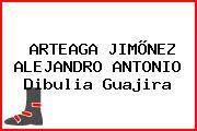 ARTEAGA JIMÕNEZ ALEJANDRO ANTONIO Dibulia Guajira