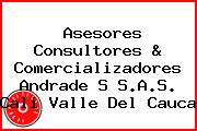 Asesores Consultores & Comercializadores Andrade S S.A.S. Cali Valle Del Cauca