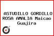 ASTUDILLO GORDILLO ROSA AMALIA Maicao Guajira