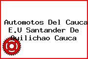 Automotos Del Cauca E.U Santander De Quilichao Cauca