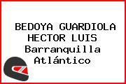BEDOYA GUARDIOLA HECTOR LUIS Barranquilla Atlántico