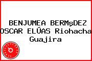 BENJUMEA BERMºDEZ OSCAR ELÚAS Riohacha Guajira