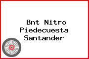 Bnt Nitro Piedecuesta Santander