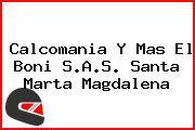 Calcomania Y Mas El Boni S.A.S. Santa Marta Magdalena