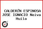 CALDERµN ESPINOSA JOSE IGNACIO Neiva Huila