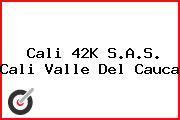 Cali 42K S.A.S. Cali Valle Del Cauca