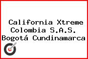California Xtreme Colombia S.A.S. Bogotá Cundinamarca