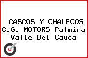 CASCOS Y CHALECOS C.G. MOTORS Palmira Valle Del Cauca
