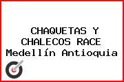 CHAQUETAS Y CHALECOS RACE Medellín Antioquia
