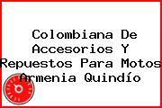 Colombiana De Accesorios Y Repuestos Para Motos Armenia Quindío