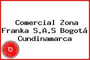 Comercial Zona Franka S.A.S Bogotá Cundinamarca