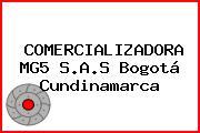 COMERCIALIZADORA MG5 S.A.S Bogotá Cundinamarca