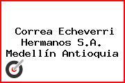 Correa Echeverri Hermanos S.A. Medellín Antioquia