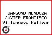 DANGOND MENDOZA JAVIER FRANCISCO Villanueva Bolívar