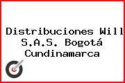 Distribuciones Will S.A.S. Bogotá Cundinamarca