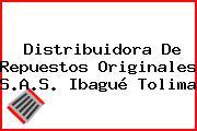 Distribuidora De Repuestos Originales S.A.S. Ibagué Tolima