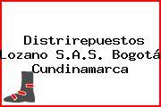 Distrirepuestos Lozano S.A.S. Bogotá Cundinamarca