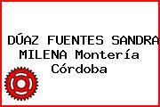 DÚAZ FUENTES SANDRA MILENA Montería Córdoba