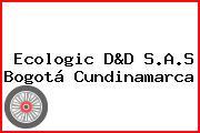 Ecologic D&D S.A.S Bogotá Cundinamarca
