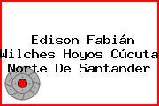Edison Fabián Wilches Hoyos Cúcuta Norte De Santander