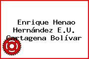 Enrique Henao Hernández E.U. Cartagena Bolívar