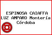ESPINOSA CAIAFFA LUZ AMPARO Montería Córdoba