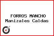 FORROS MANCHO Manizales Caldas