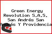 Green Energy Revolution S.A.S. San Andrés San Andrés Y Providencia