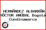 HERNÃNDEZ ALBARRÃN HÕCTOR ANÚBAL Bogotá Cundinamarca