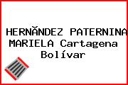 HERNÃNDEZ PATERNINA MARIELA Cartagena Bolívar