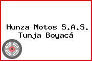Hunza Motos S.A.S. Tunja Boyacá