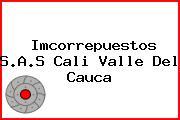 Imcorrepuestos S.A.S Cali Valle Del Cauca
