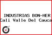 INDUSTRIAS BON-HER Cali Valle Del Cauca