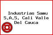 Industrias Samu S.A.S. Cali Valle Del Cauca