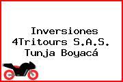 Inversiones 4Tritours S.A.S. Tunja Boyacá