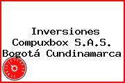 Inversiones Compuxbox S.A.S. Bogotá Cundinamarca
