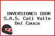 INVERSIONES IBOR S.A.S. Cali Valle Del Cauca