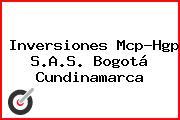 Inversiones Mcp-Hgp S.A.S. Bogotá Cundinamarca
