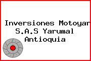 Inversiones Motoyar S.A.S Yarumal Antioquia