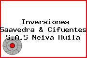 Inversiones Saavedra & Cifuentes S.A.S Neiva Huila