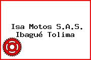 Isa Motos S.A.S. Ibagué Tolima