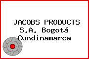 JACOBS PRODUCTS S.A. Bogotá Cundinamarca