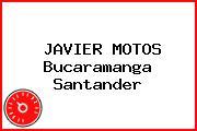 JAVIER MOTOS Bucaramanga Santander