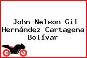 John Nelson Gil Hernández Cartagena Bolívar